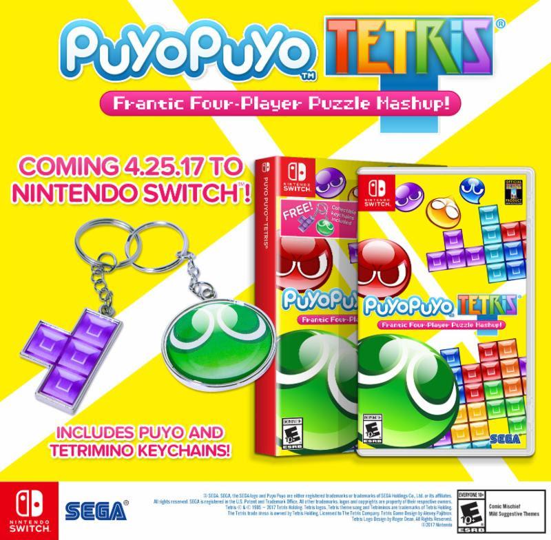 Puyo Puyo Tetris nakonec také pro Switch 138150