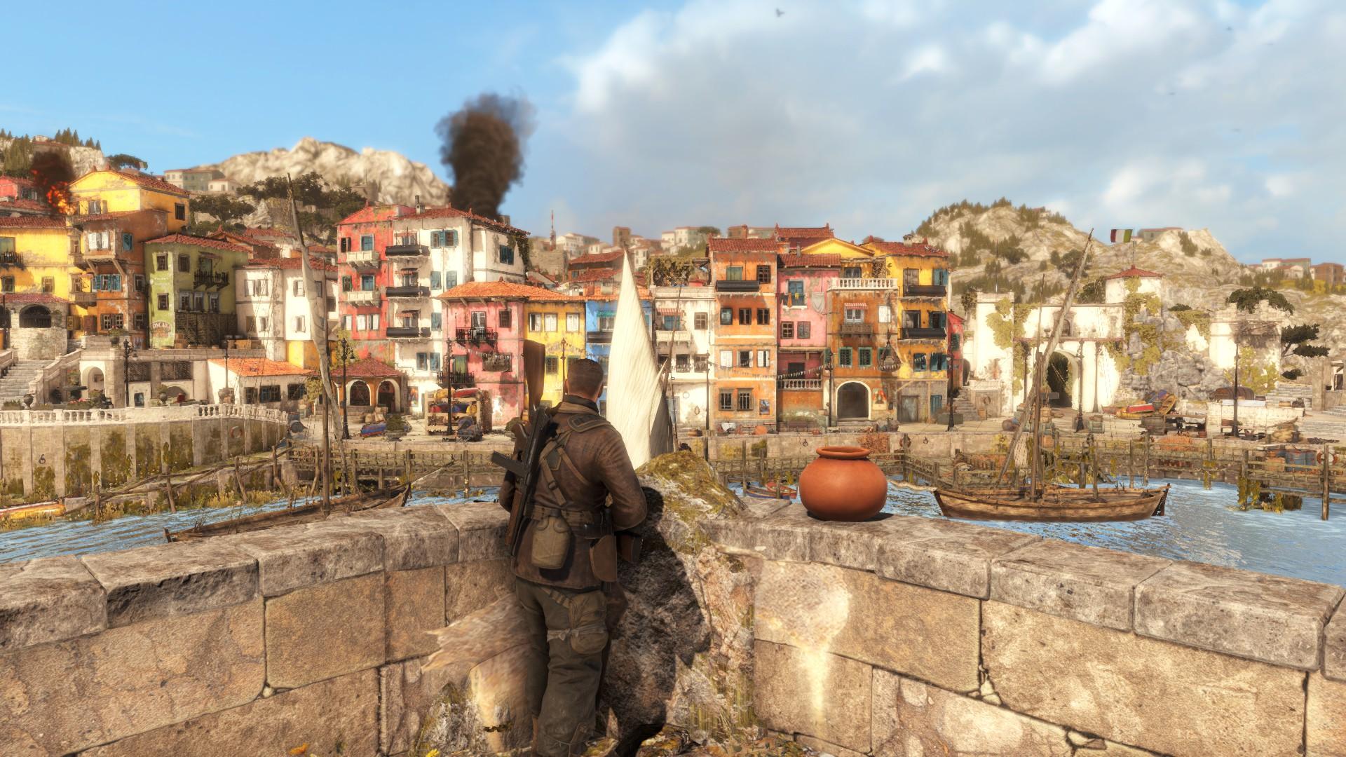 Sniper Elite 4 - sabotáž po italsku 138280