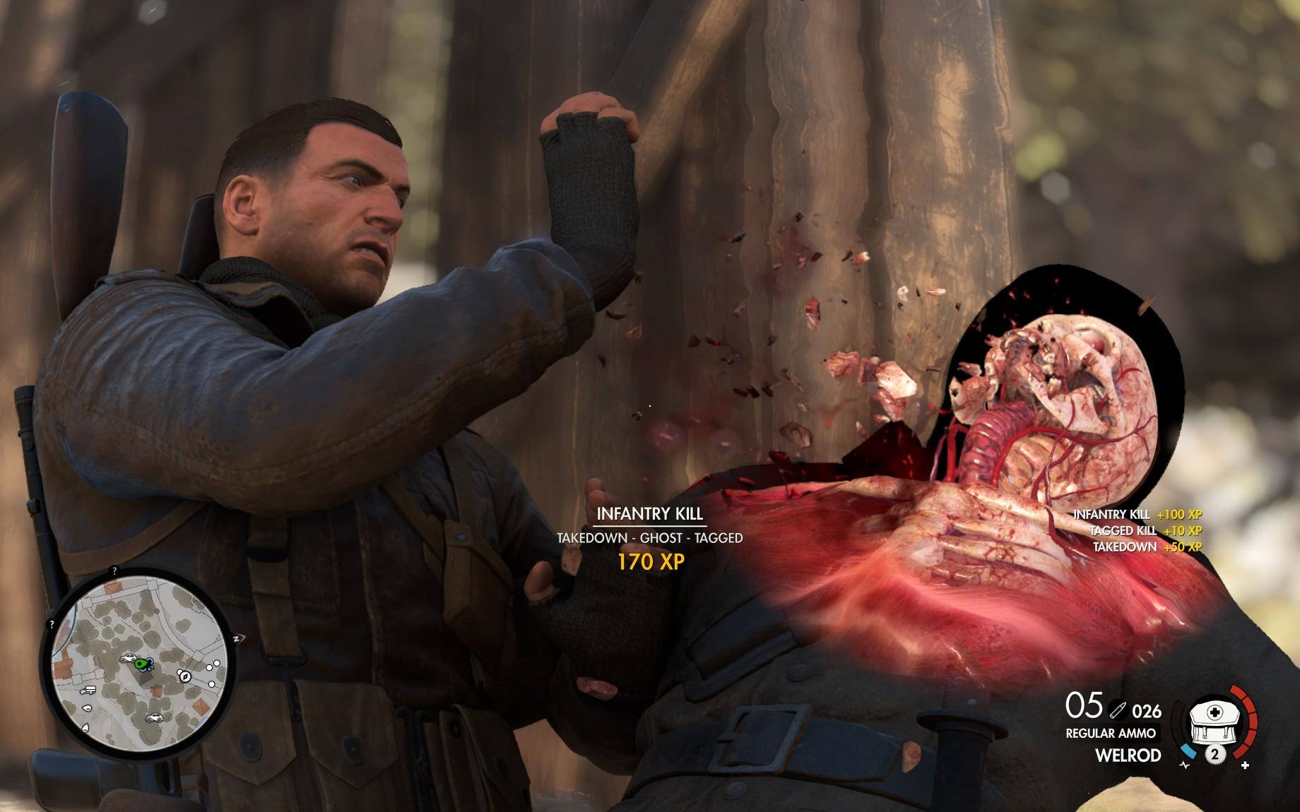 Sniper Elite 4 - sabotáž po italsku 138282