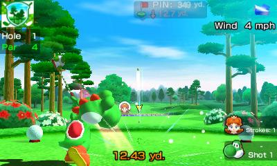 Mario Sports Superstars se připomíná trailerem Hole in One 138304