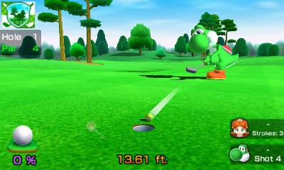 Mario Sports Superstars se připomíná trailerem Hole in One 138305