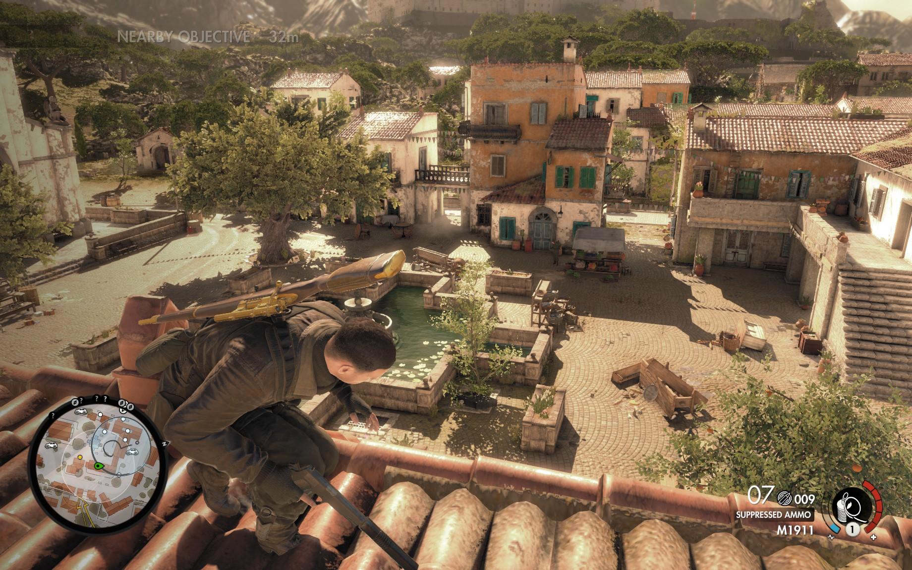 Sniper Elite 4 - sabotáž po italsku 138308