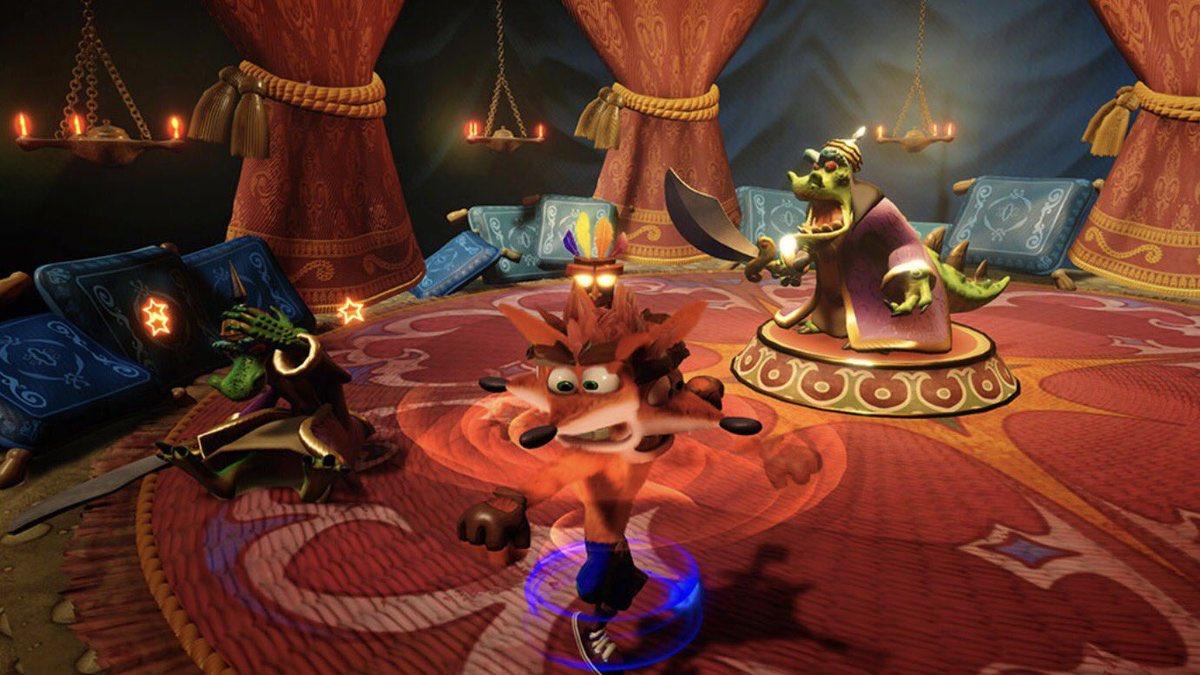 Crash Bandicoot N. Sane Trilogy se připomíná čtyřmi novými obrázky 138450