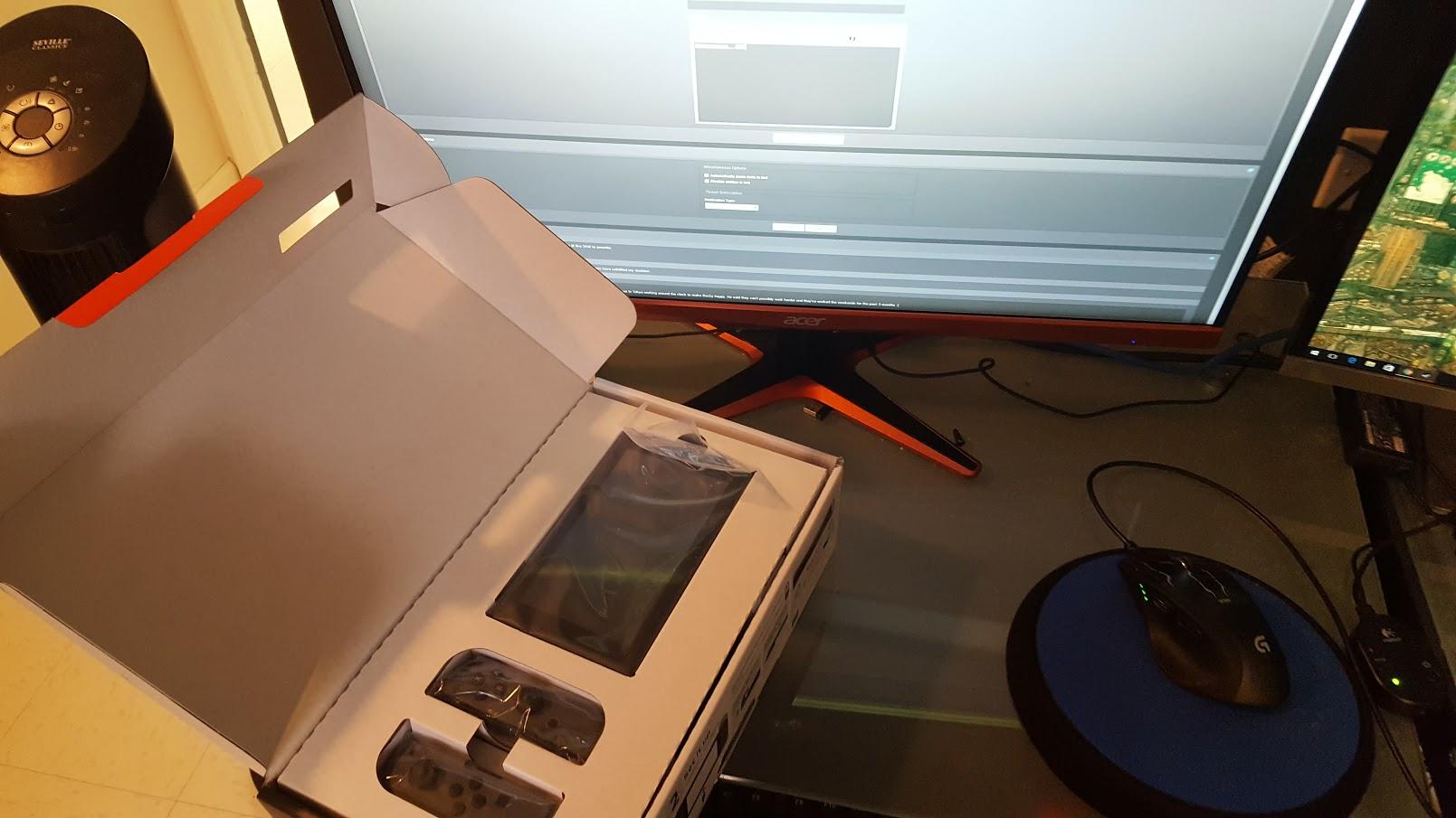 Uživatelské rozhraní Switche na prvních záběrech 138599