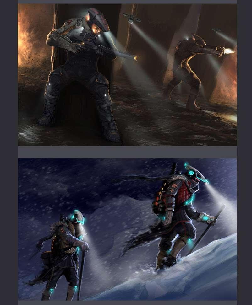 Koncepty ze zrušeného sci-fi titulu od tvůrců God of War 138643