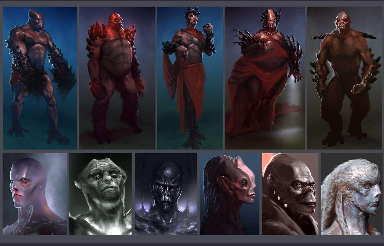 Koncepty ze zrušeného sci-fi titulu od tvůrců God of War 138653
