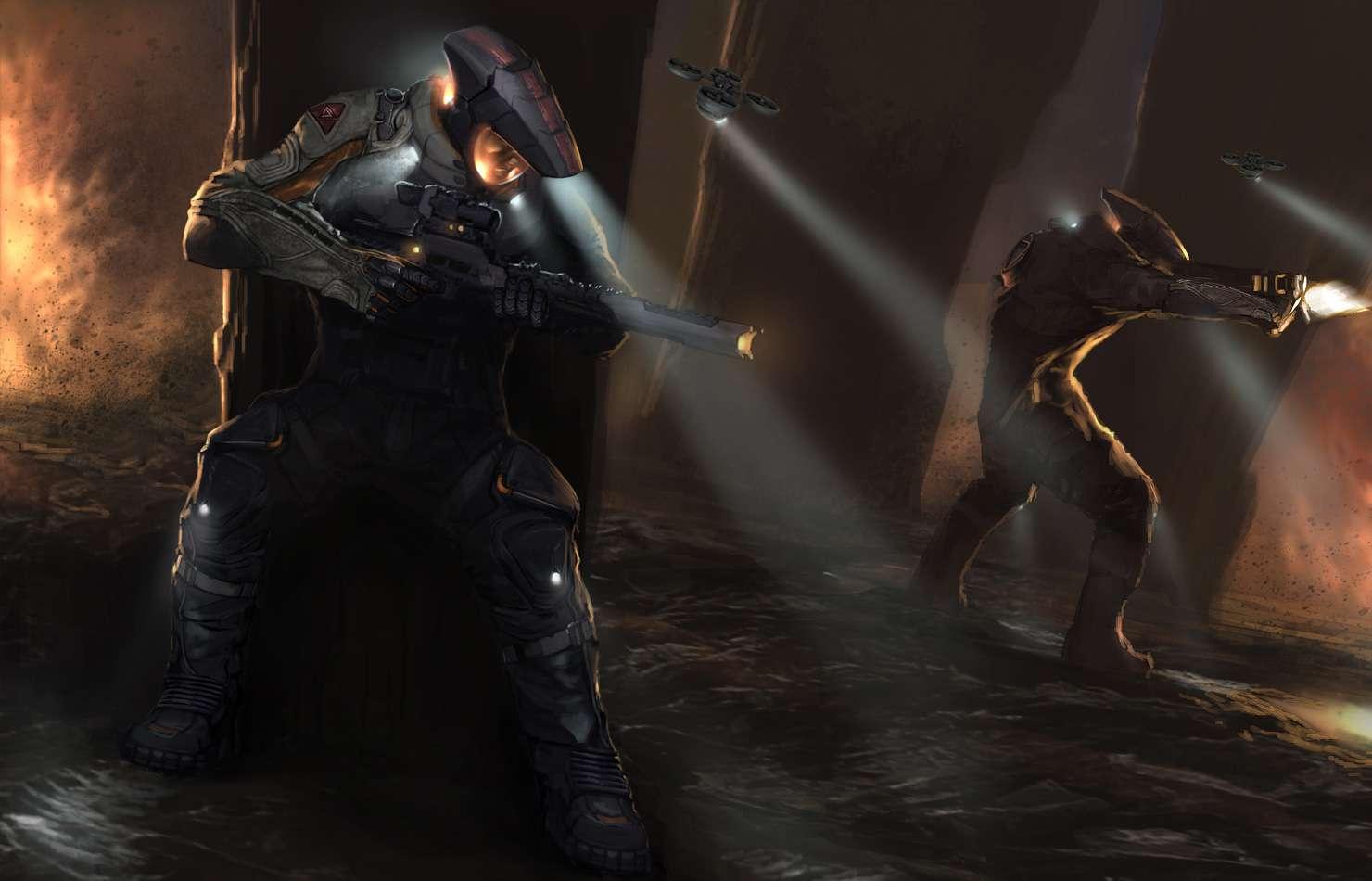 Koncepty ze zrušeného sci-fi titulu od tvůrců God of War 138658