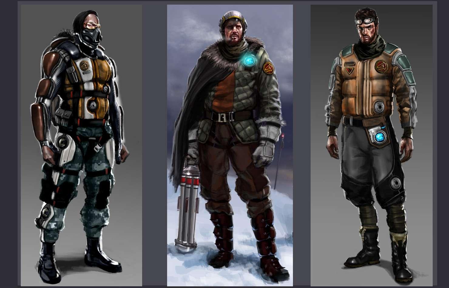 Koncepty ze zrušeného sci-fi titulu od tvůrců God of War 138661