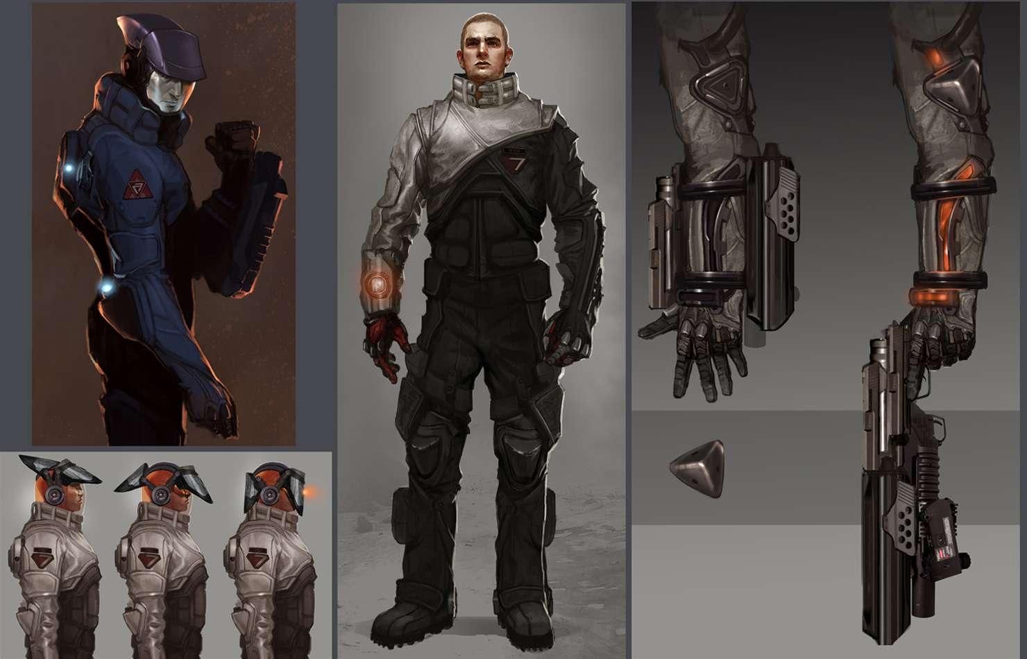 Koncepty ze zrušeného sci-fi titulu od tvůrců God of War 138662