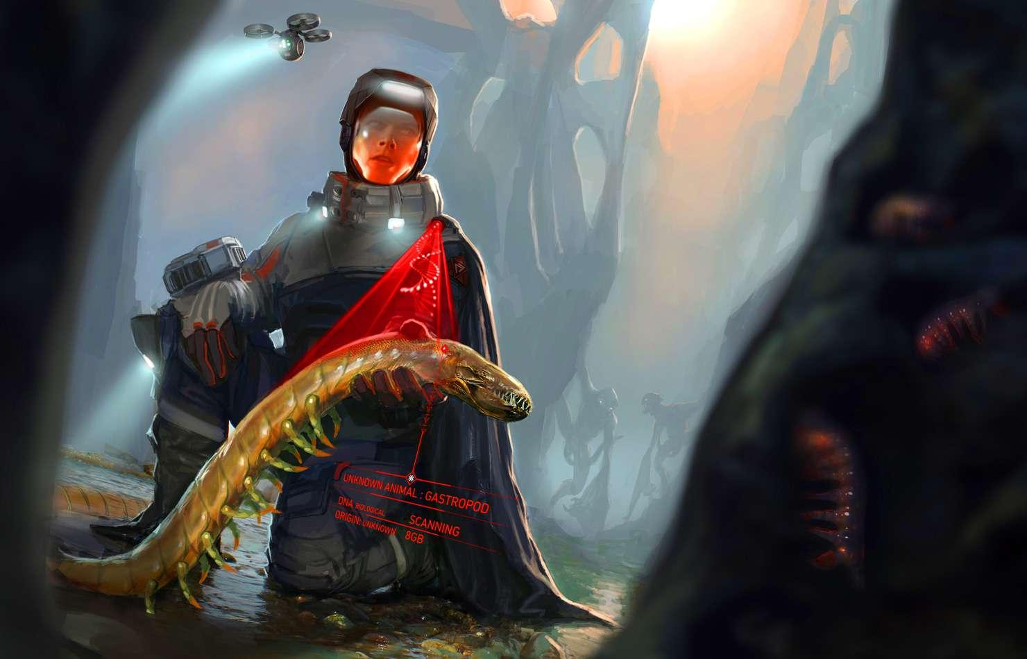 Koncepty ze zrušeného sci-fi titulu od tvůrců God of War 138668