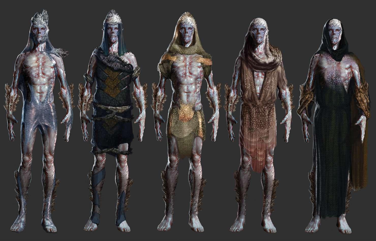 Koncepty ze zrušeného sci-fi titulu od tvůrců God of War 138670