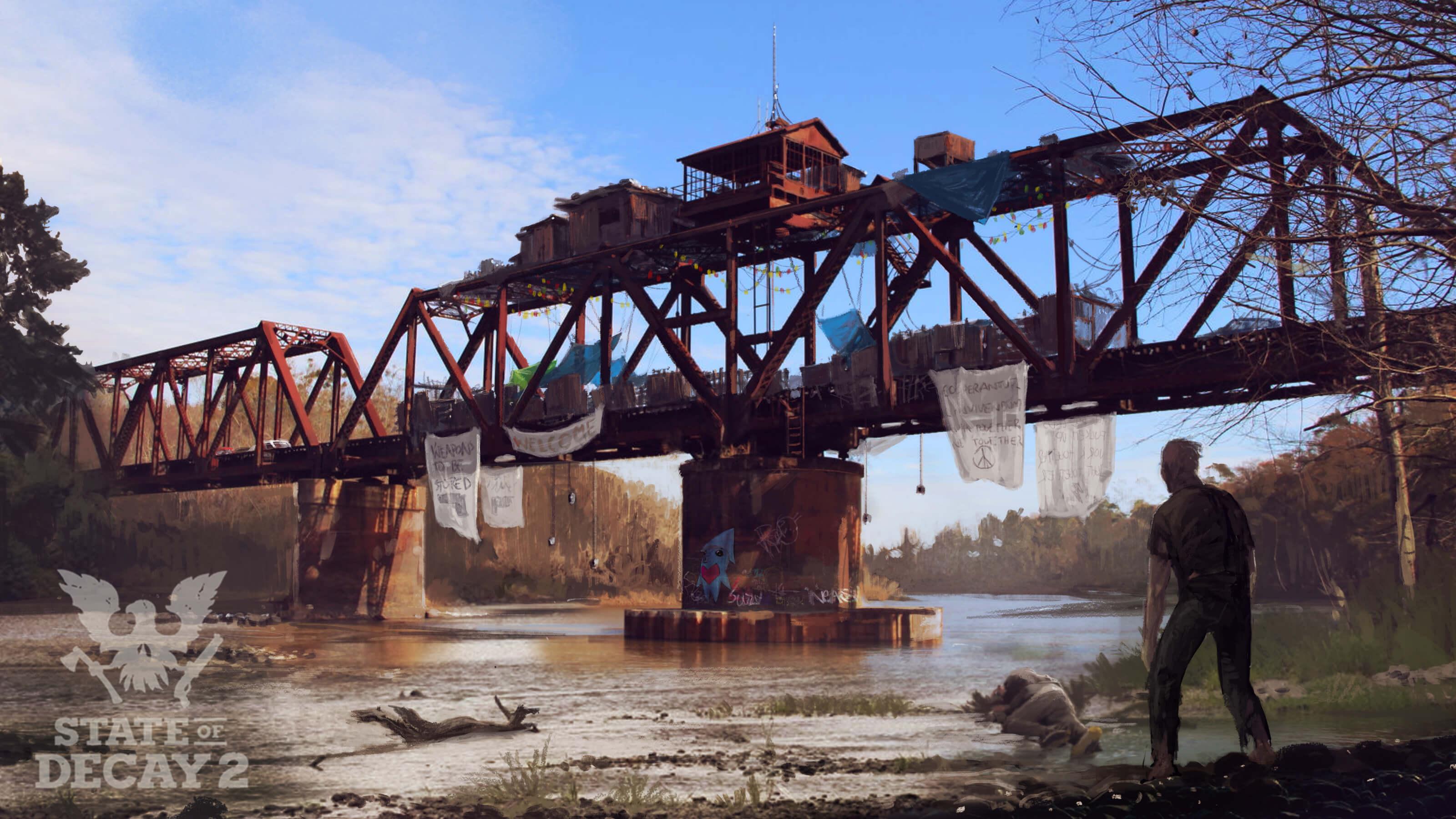 Čtyři artworky ze survivalu State of Decay 2 138676