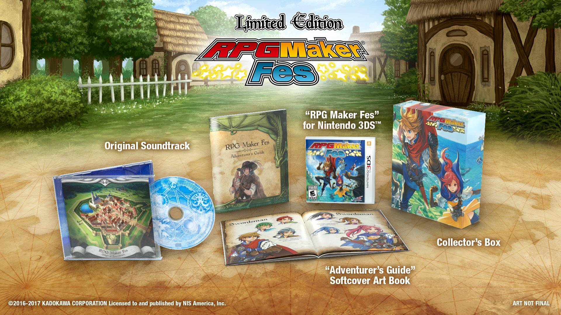 RPG Maker Fes, kde si vytvoříte vlastní hru, vyjde letos i u nás 138703