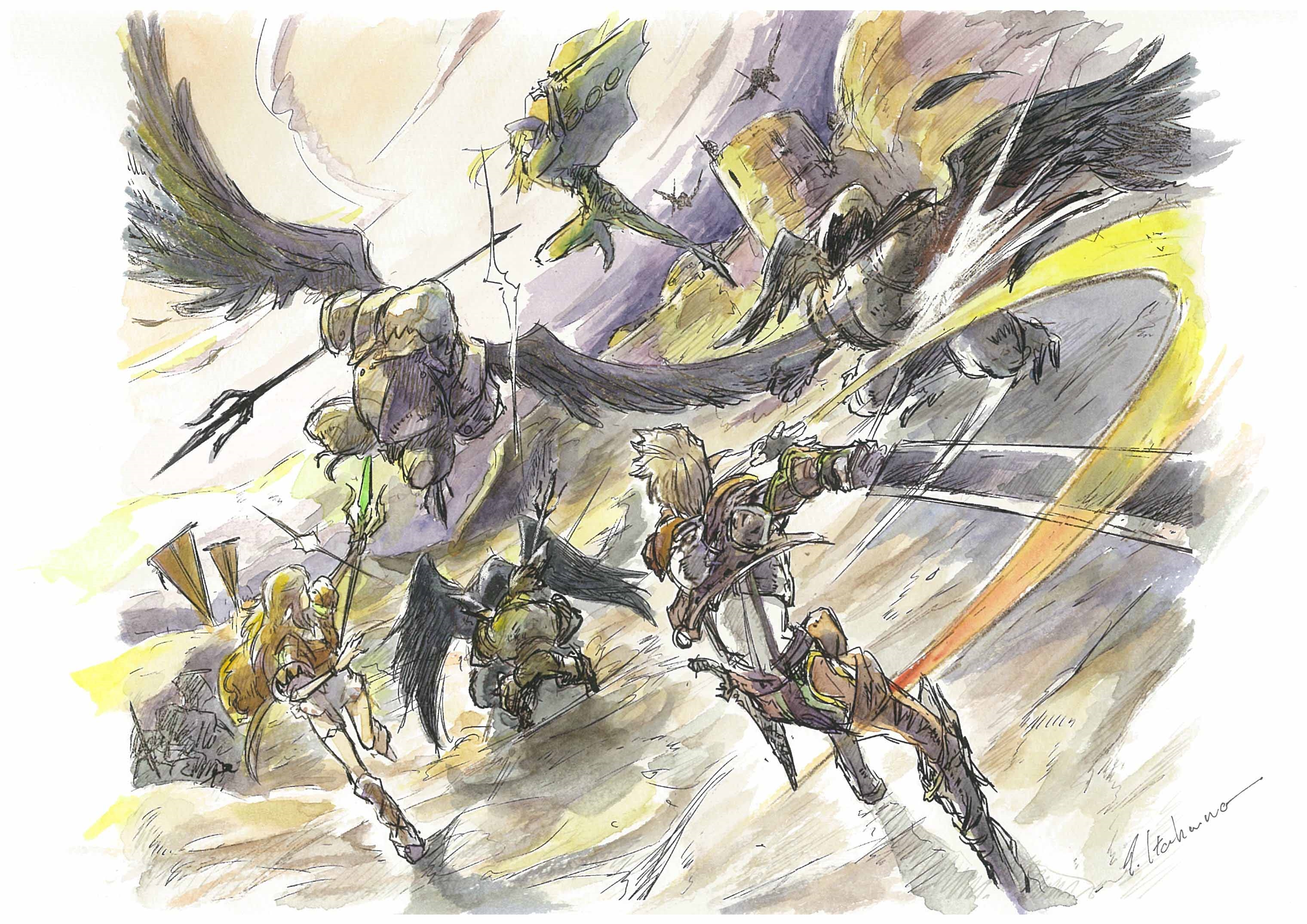 Square Enix chystá v novém studiu nové RPG 138870