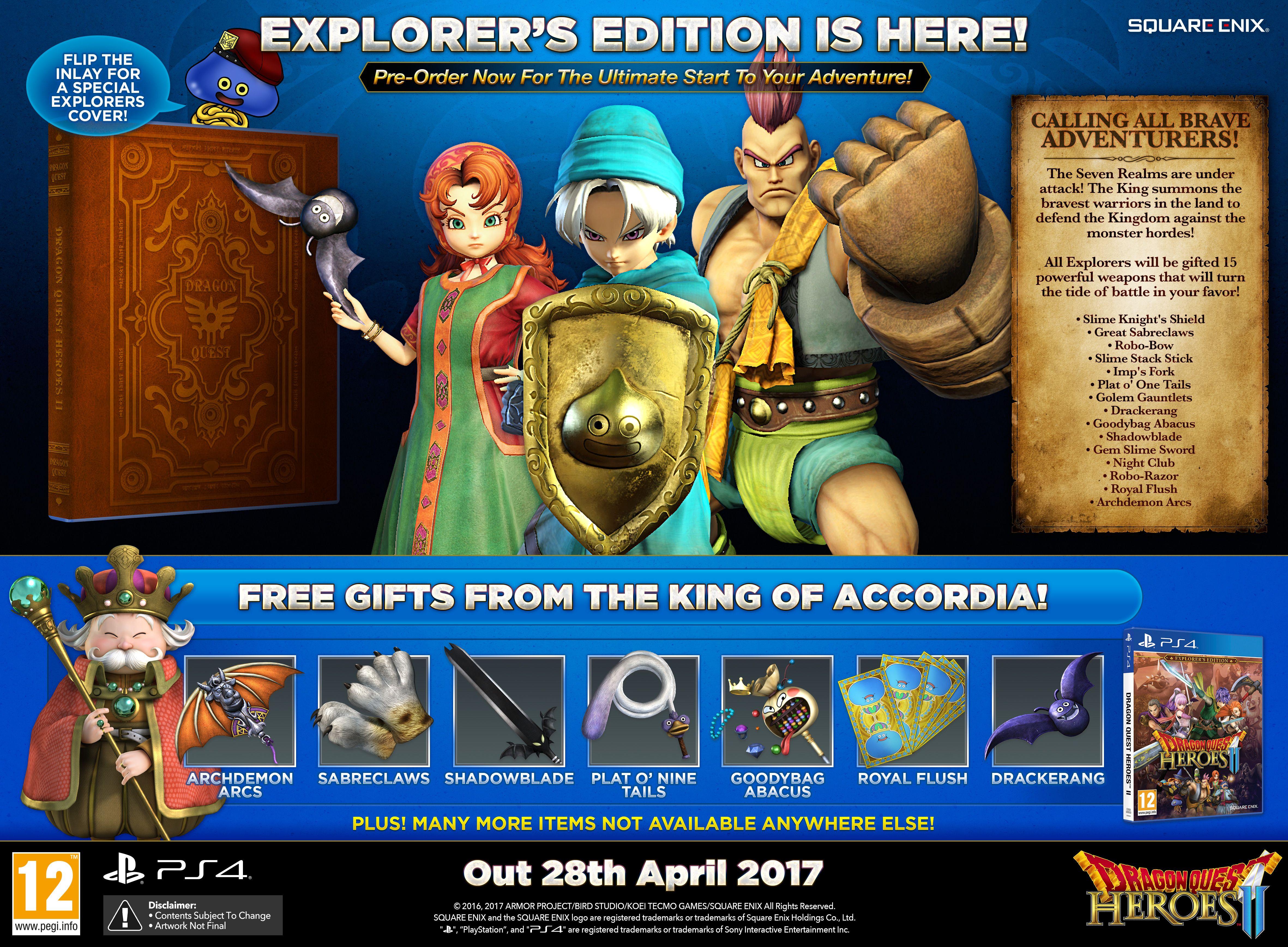 Dragon Quest Heroes II v dubnu také na PC 139012
