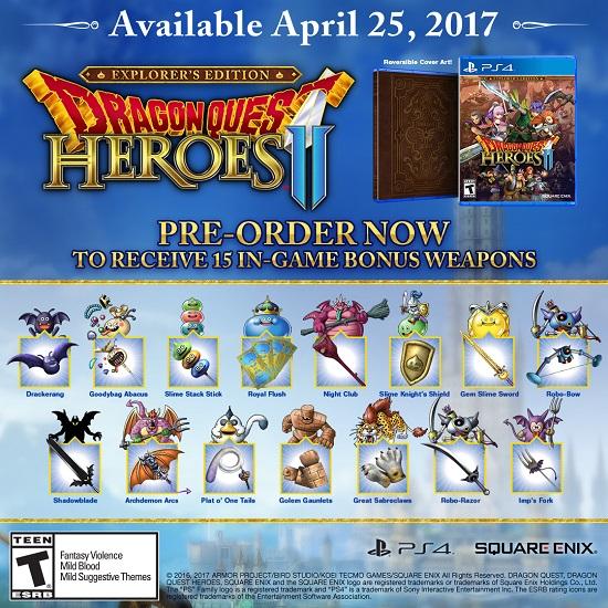 Dragon Quest Heroes II v dubnu také na PC 139013
