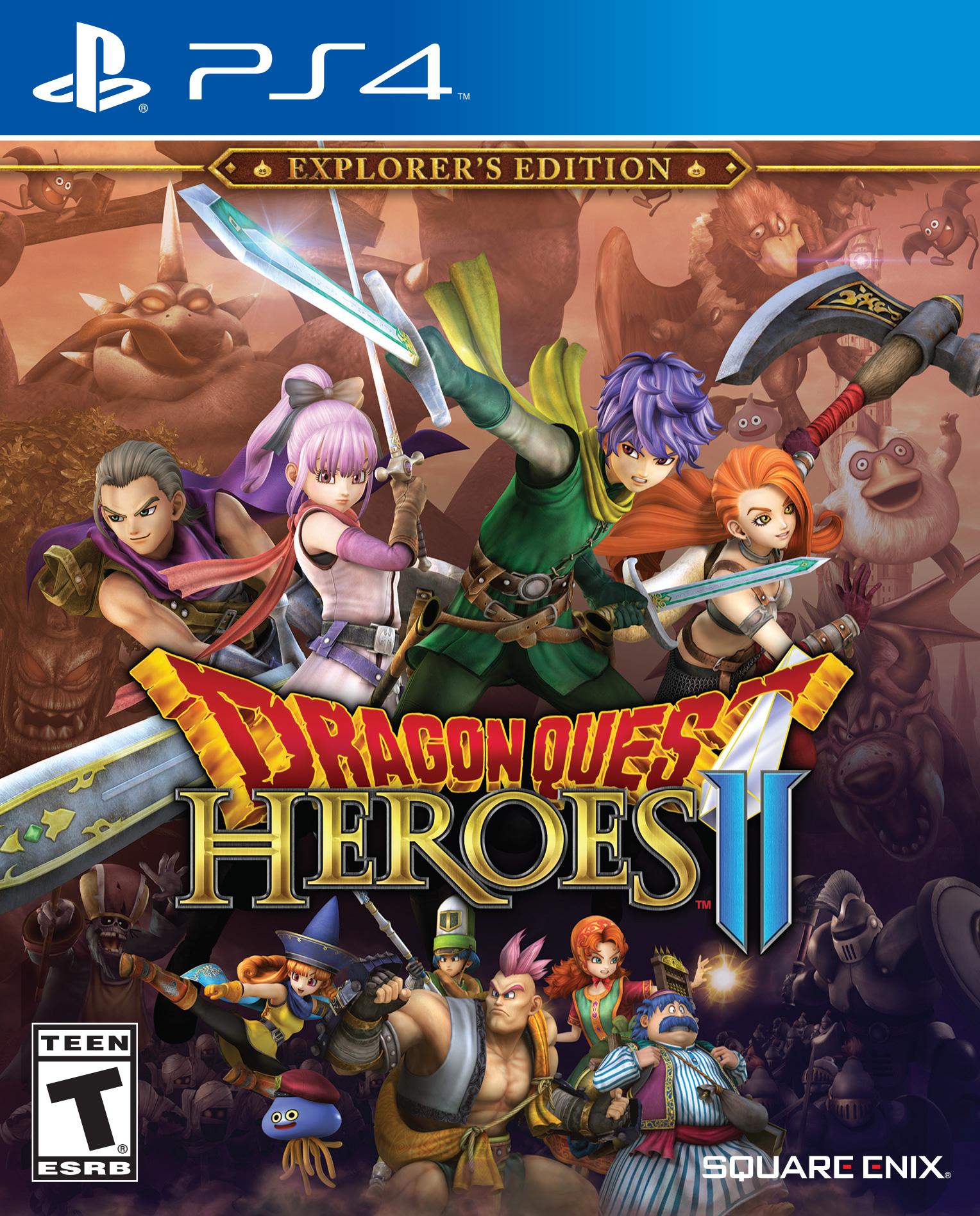 Dragon Quest Heroes II v dubnu také na PC 139015
