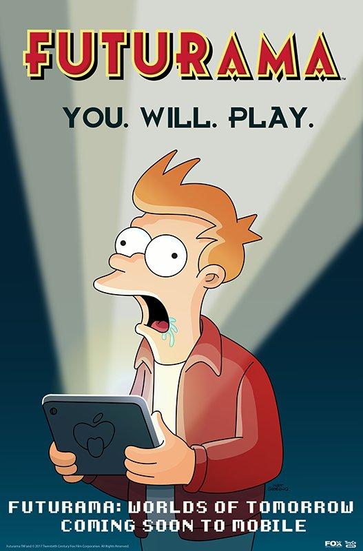 Futurama se vrací na mobily a tablety 139032
