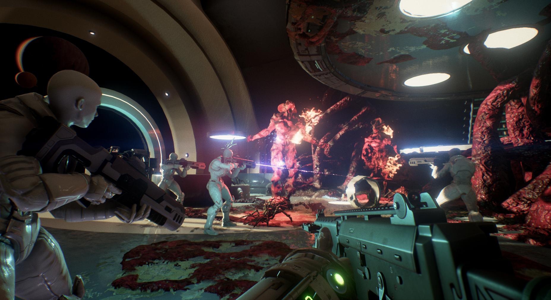 Genesis Alpha One je mix roguelike střílečky, budování a survivalu 139110