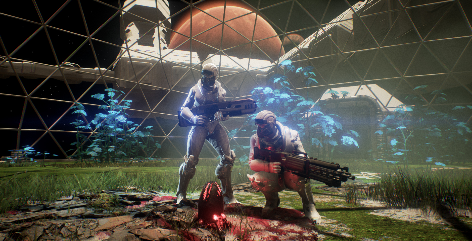 Genesis Alpha One je mix roguelike střílečky, budování a survivalu 139115