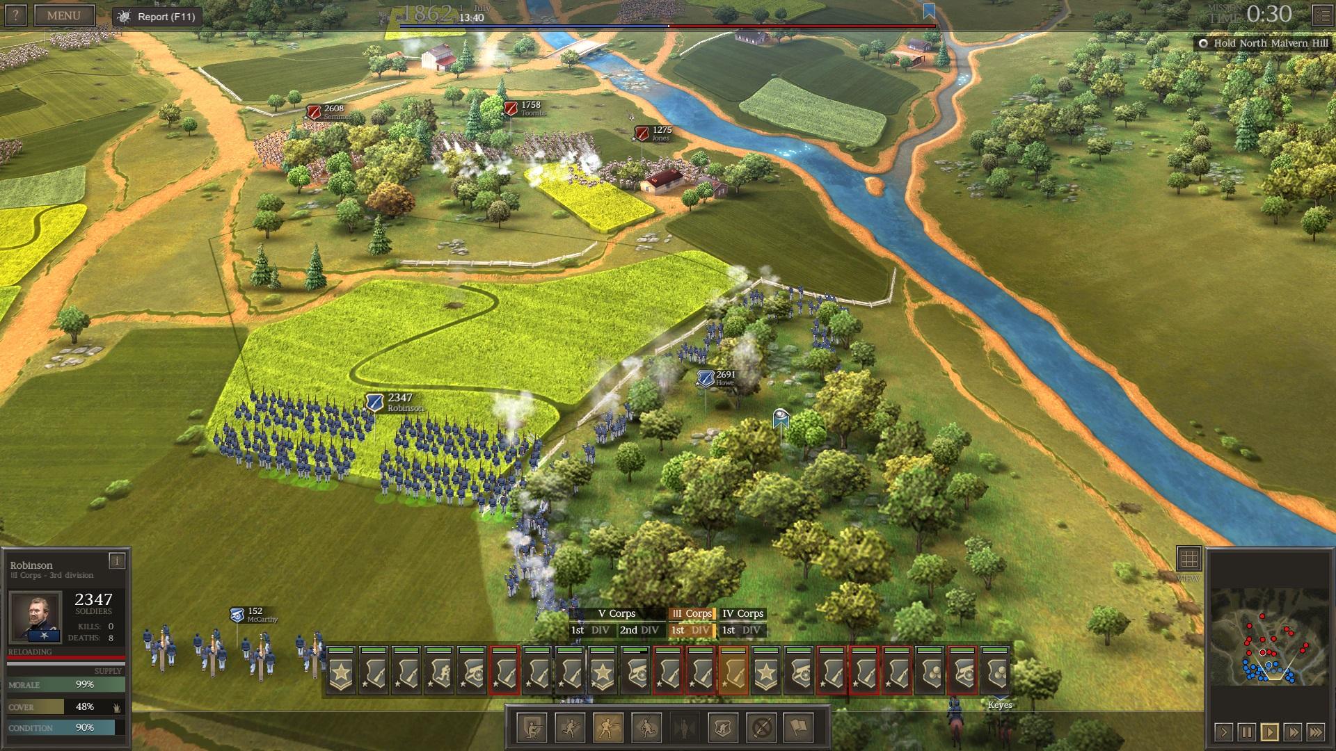 Ultimate General: Civil War – první dojmy z krvavých bojišť minulosti 139143