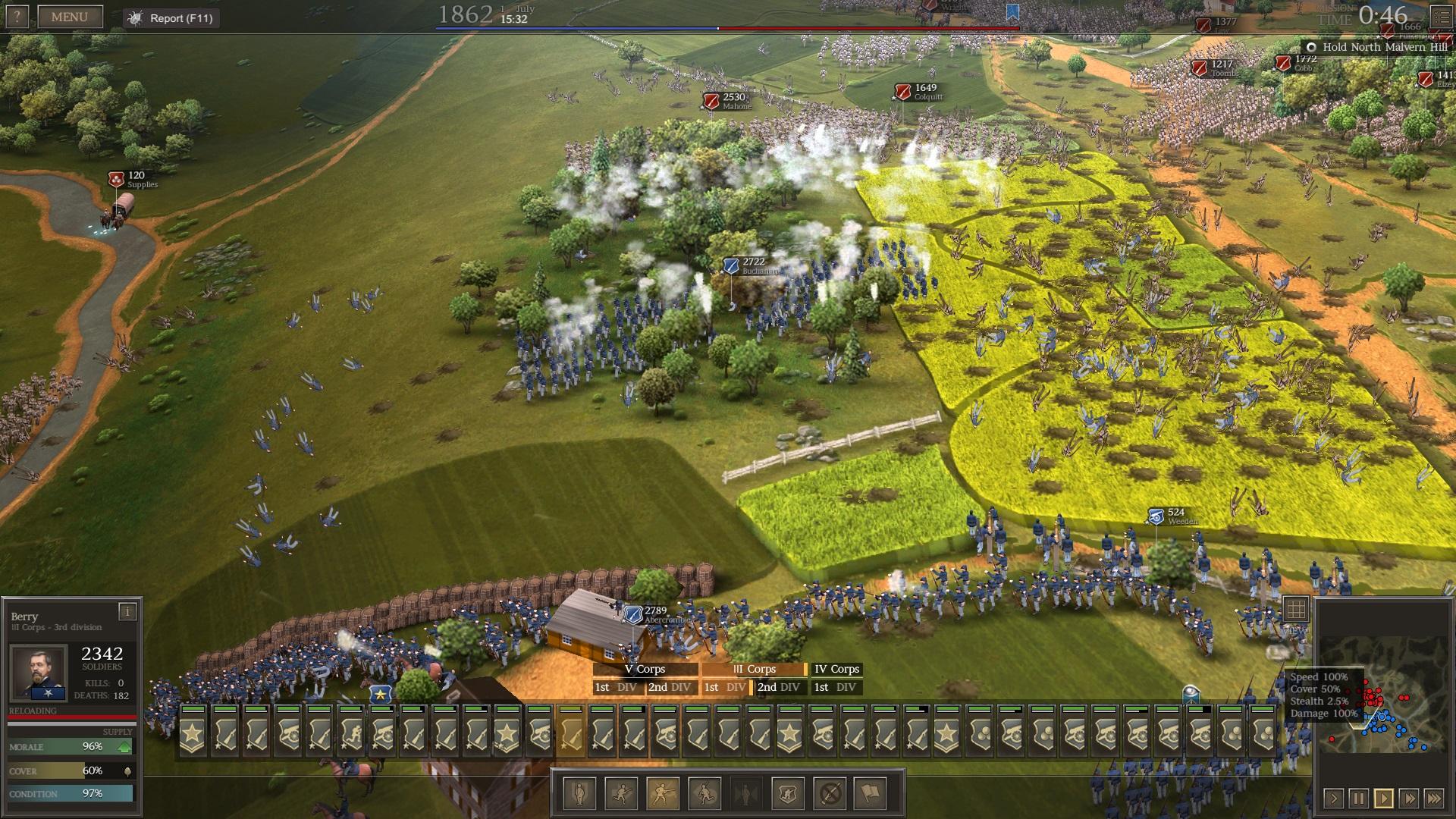 Ultimate General: Civil War – první dojmy z krvavých bojišť minulosti 139147