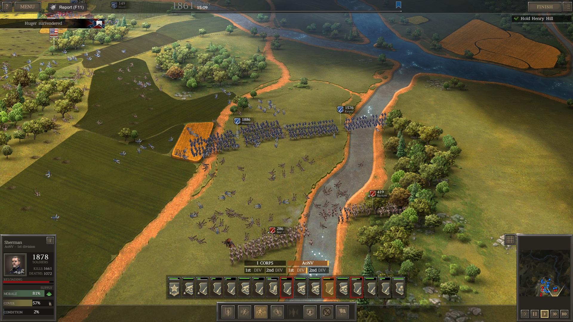 Ultimate General: Civil War – první dojmy z krvavých bojišť minulosti 139149