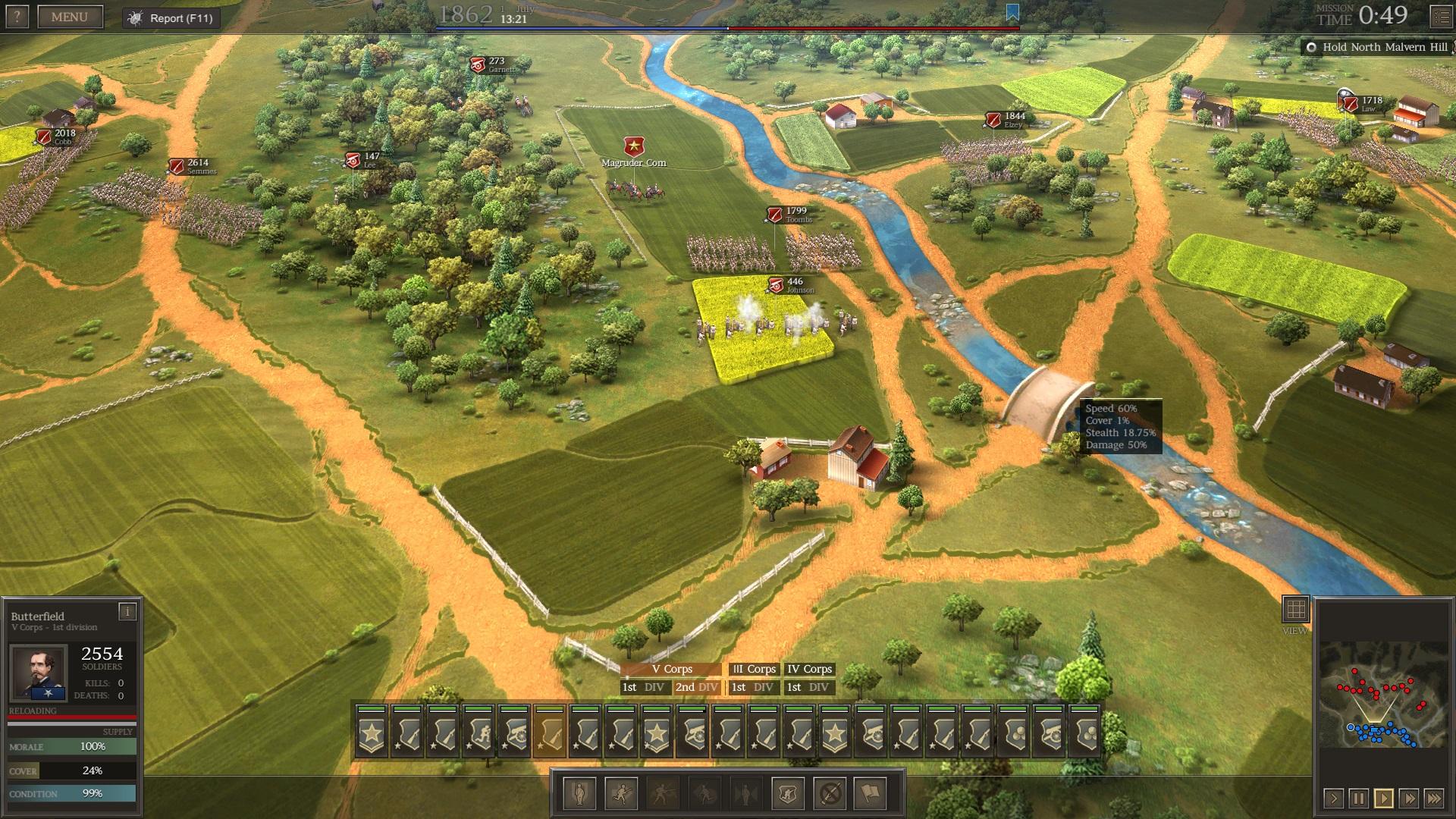 Ultimate General: Civil War – první dojmy z krvavých bojišť minulosti 139154