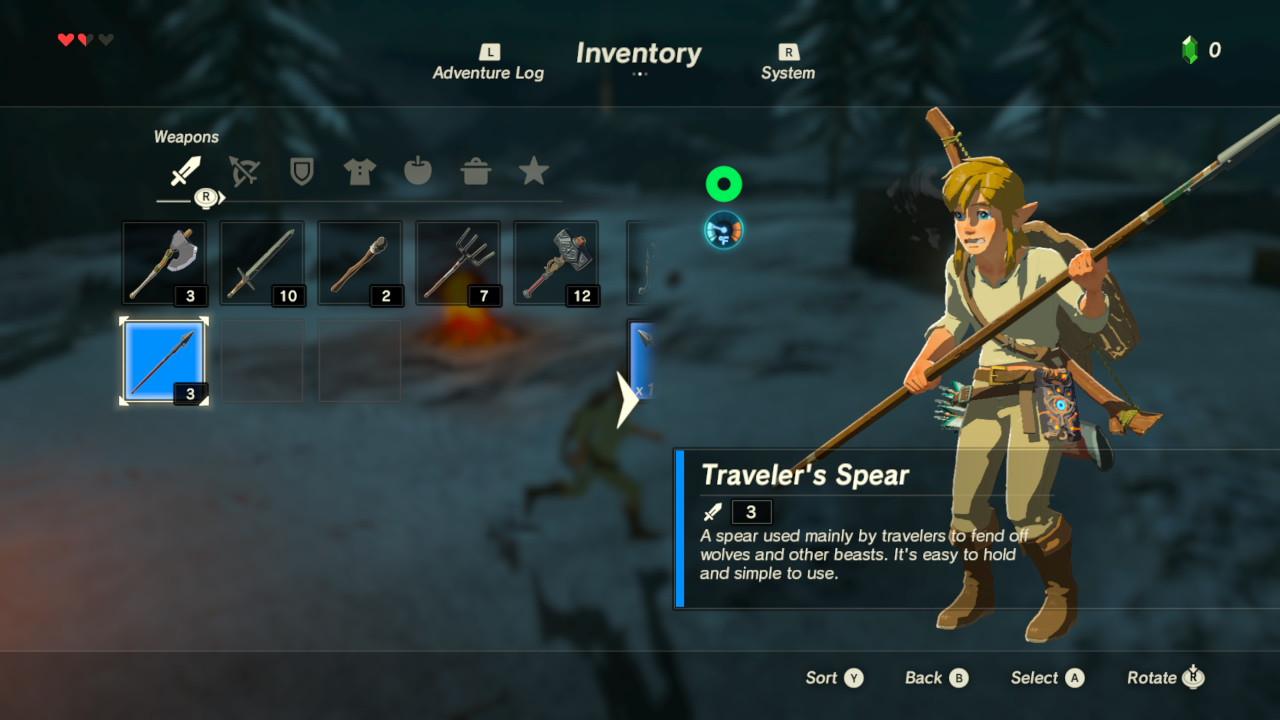 Nové screenshoty z The Legend of Zelda: Breath of the Wild 139273