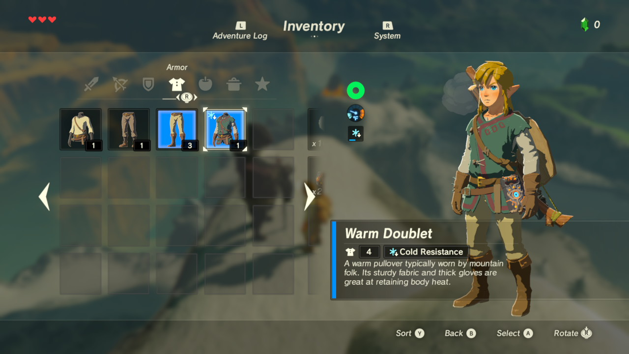 Nové screenshoty z The Legend of Zelda: Breath of the Wild 139276