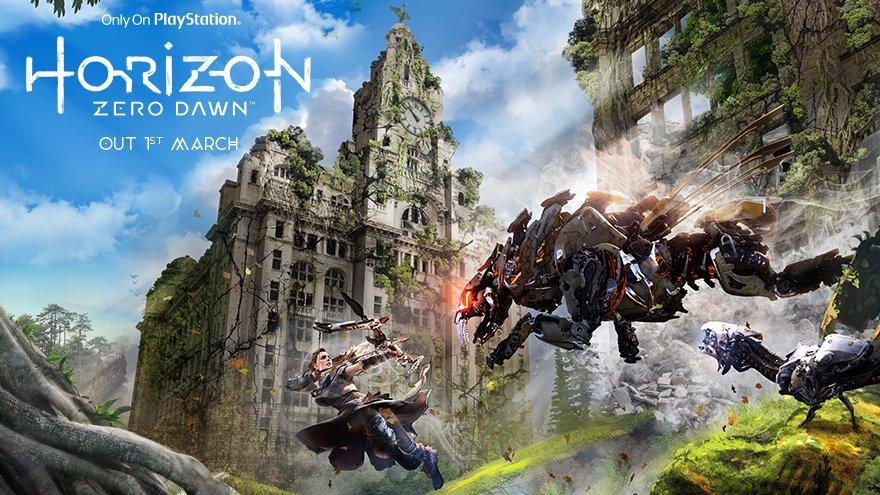 Horizon: Zero Dawn - anglické památky a města v nelichotivé budoucnosti 139374
