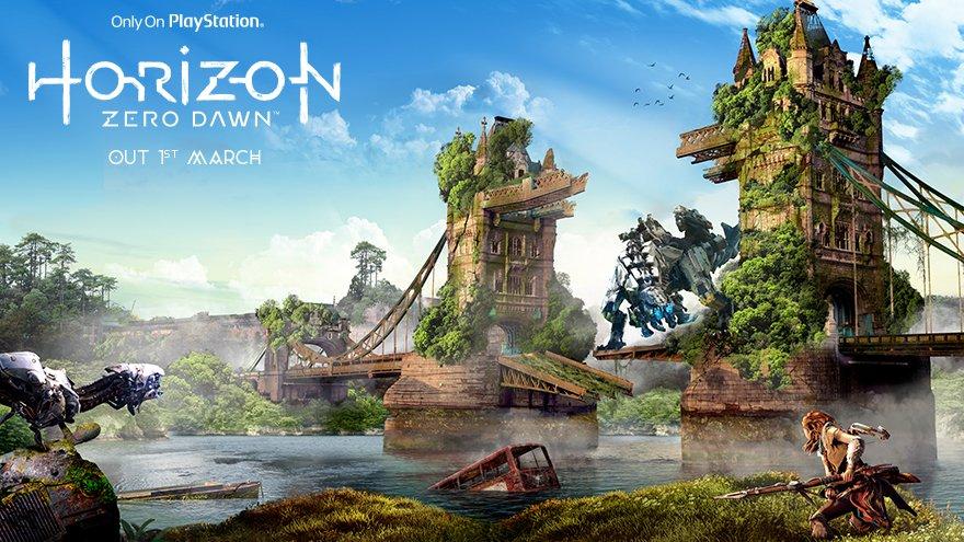 Horizon: Zero Dawn - anglické památky a města v nelichotivé budoucnosti 139375
