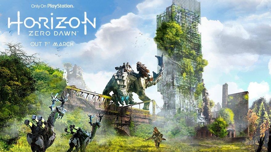 Horizon: Zero Dawn - anglické památky a města v nelichotivé budoucnosti 139376