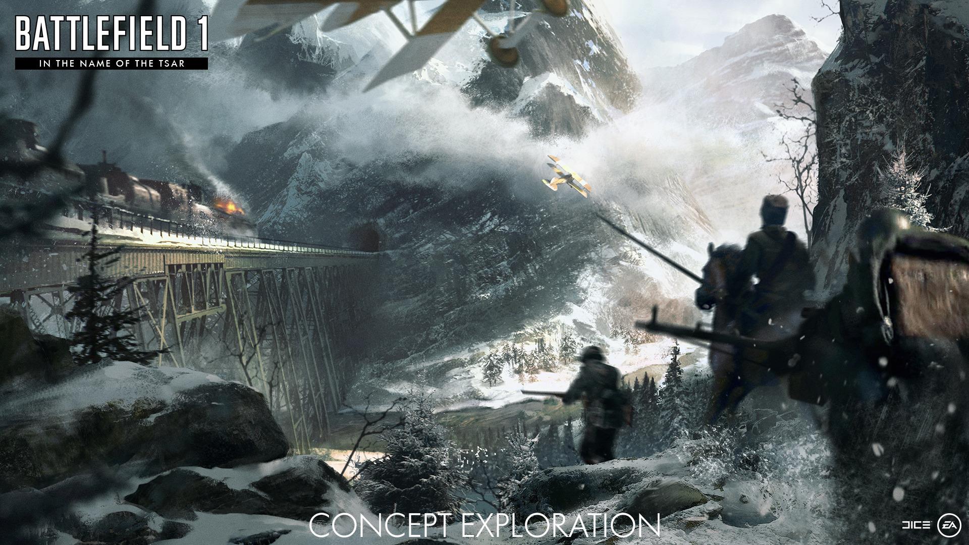 Dodatečný obsah pro Battlefield 1 vás vhodí do francouzských a ruských uniforem 139497