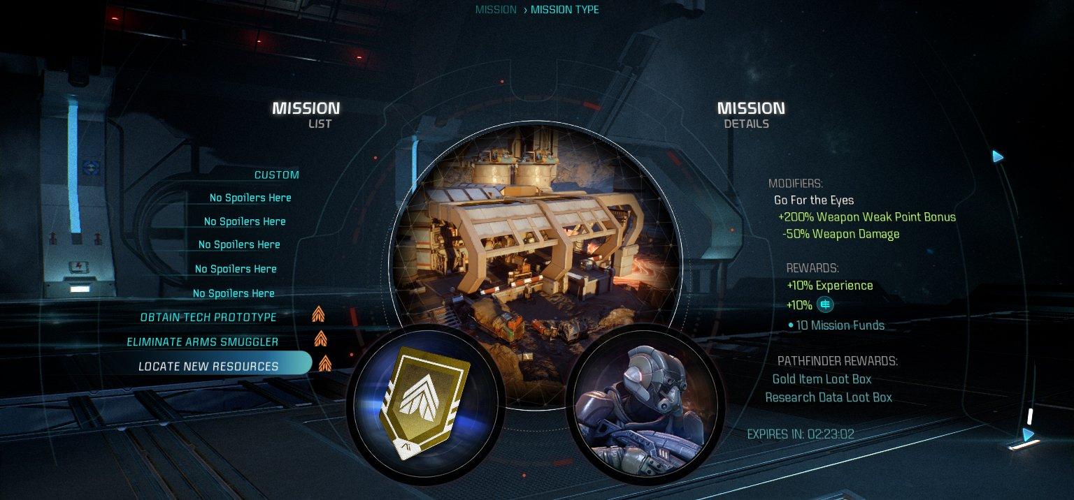 Dodatečné mapy multiplayeru Mass Effectu: Andromeda budou zdarma 139774