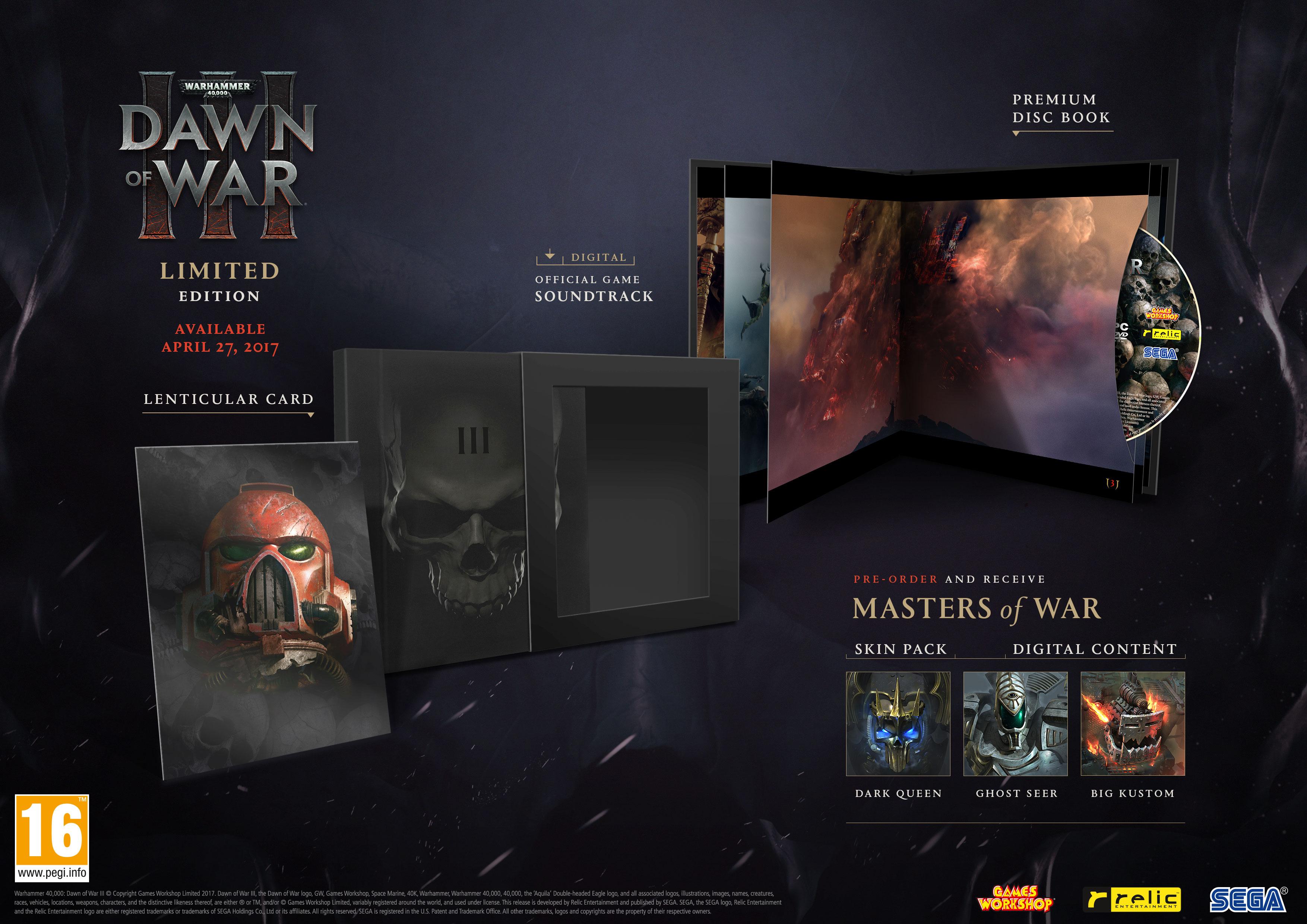 Dawn of War 3 s českými titulky a datum vydání 139776