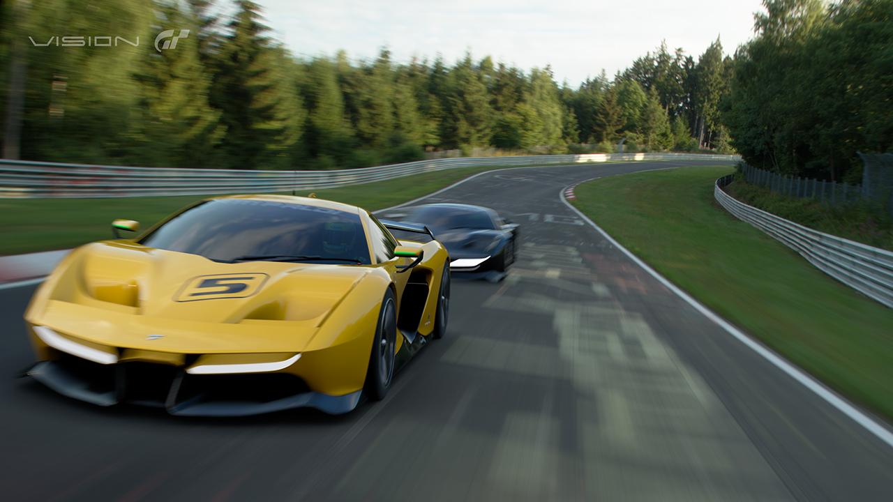 Project Cars 2 a Gran Turismo Sport odhalují nový vůz 139839