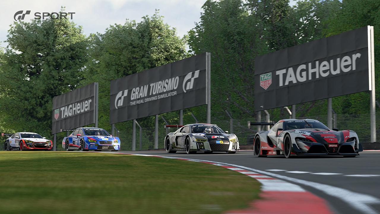 Gran Turismo Sport uzavřelo partnerství s TAG Heuer 139848