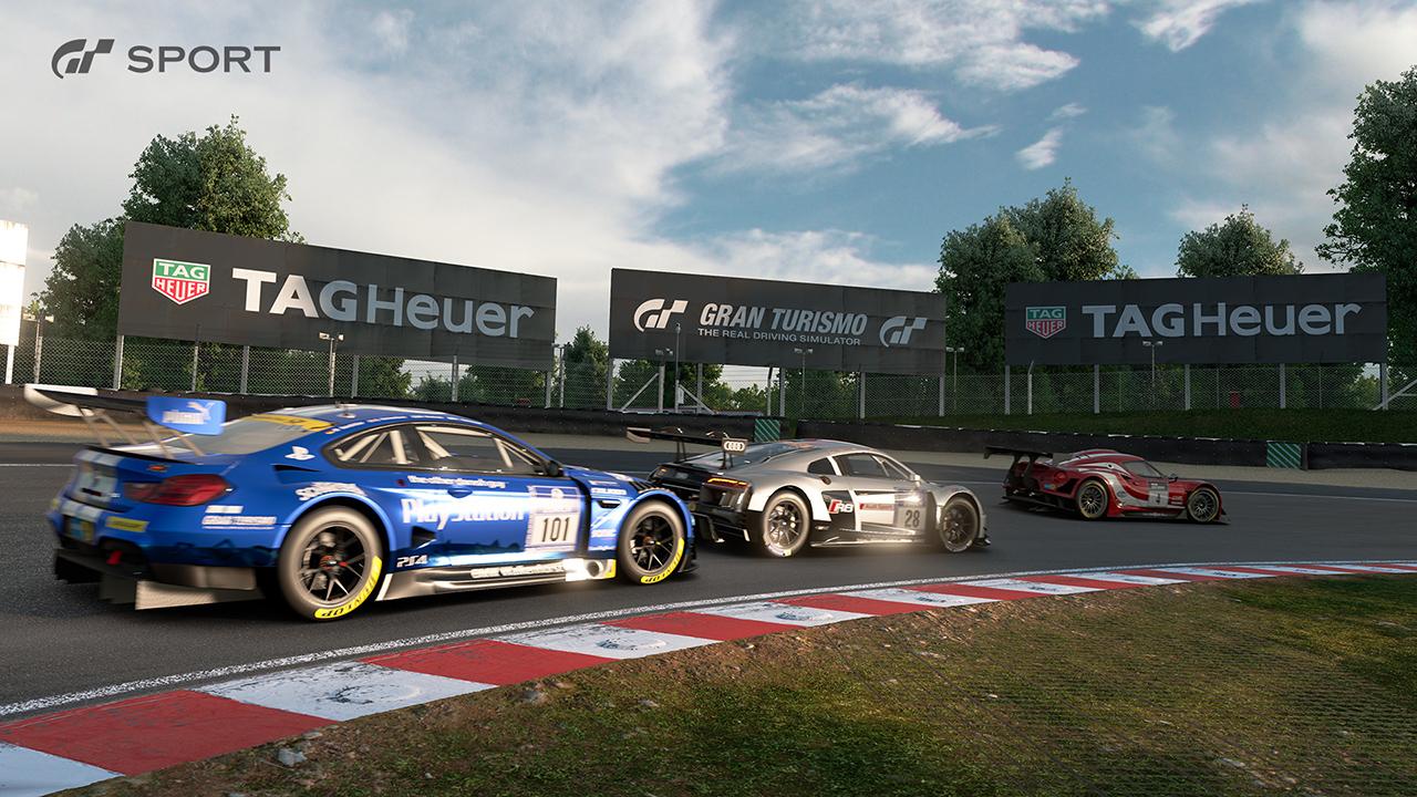 Gran Turismo Sport uzavřelo partnerství s TAG Heuer 139849
