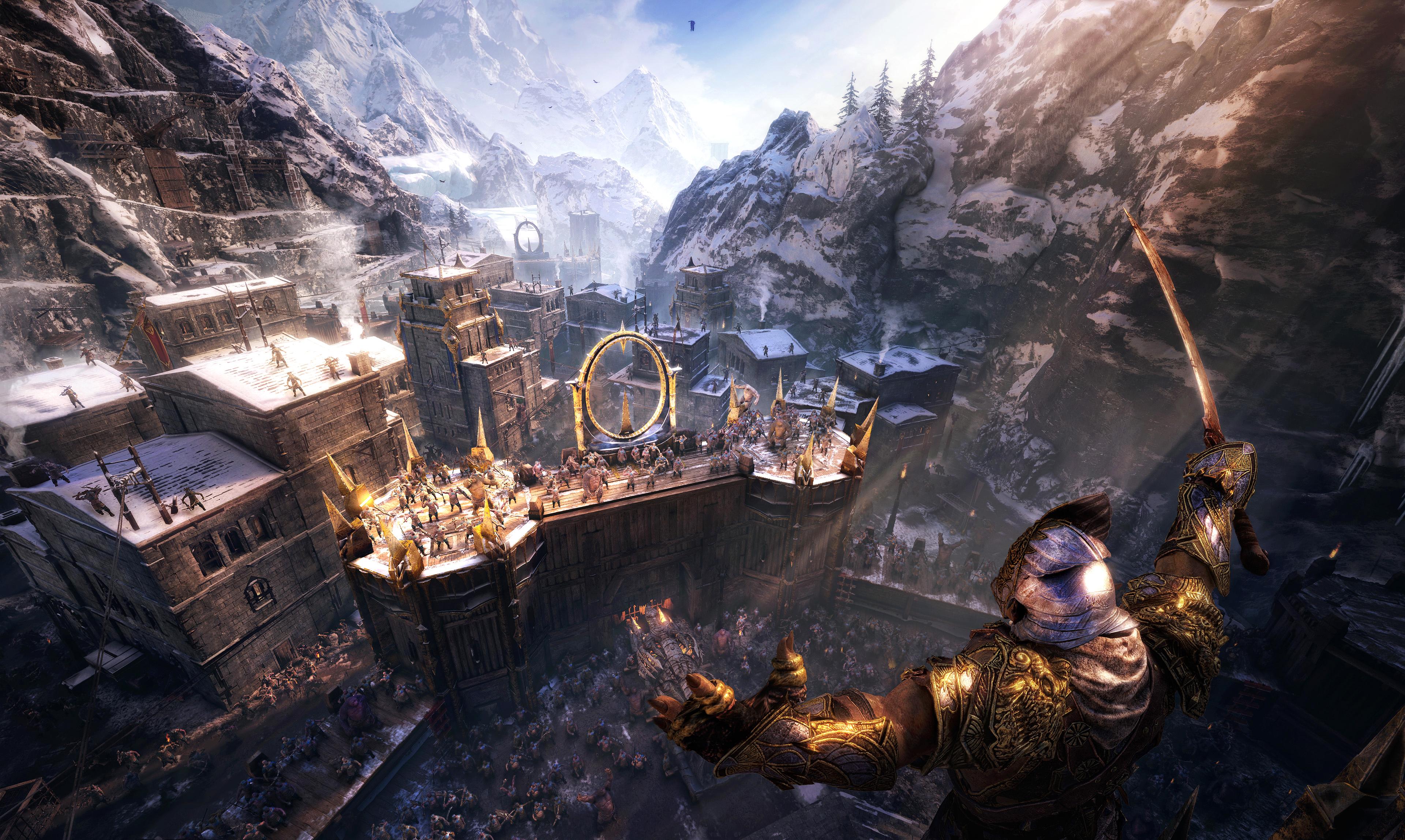 V Middle-earth: Shadow of War budete moci dobývat pevnosti ostatních hráčů 139896