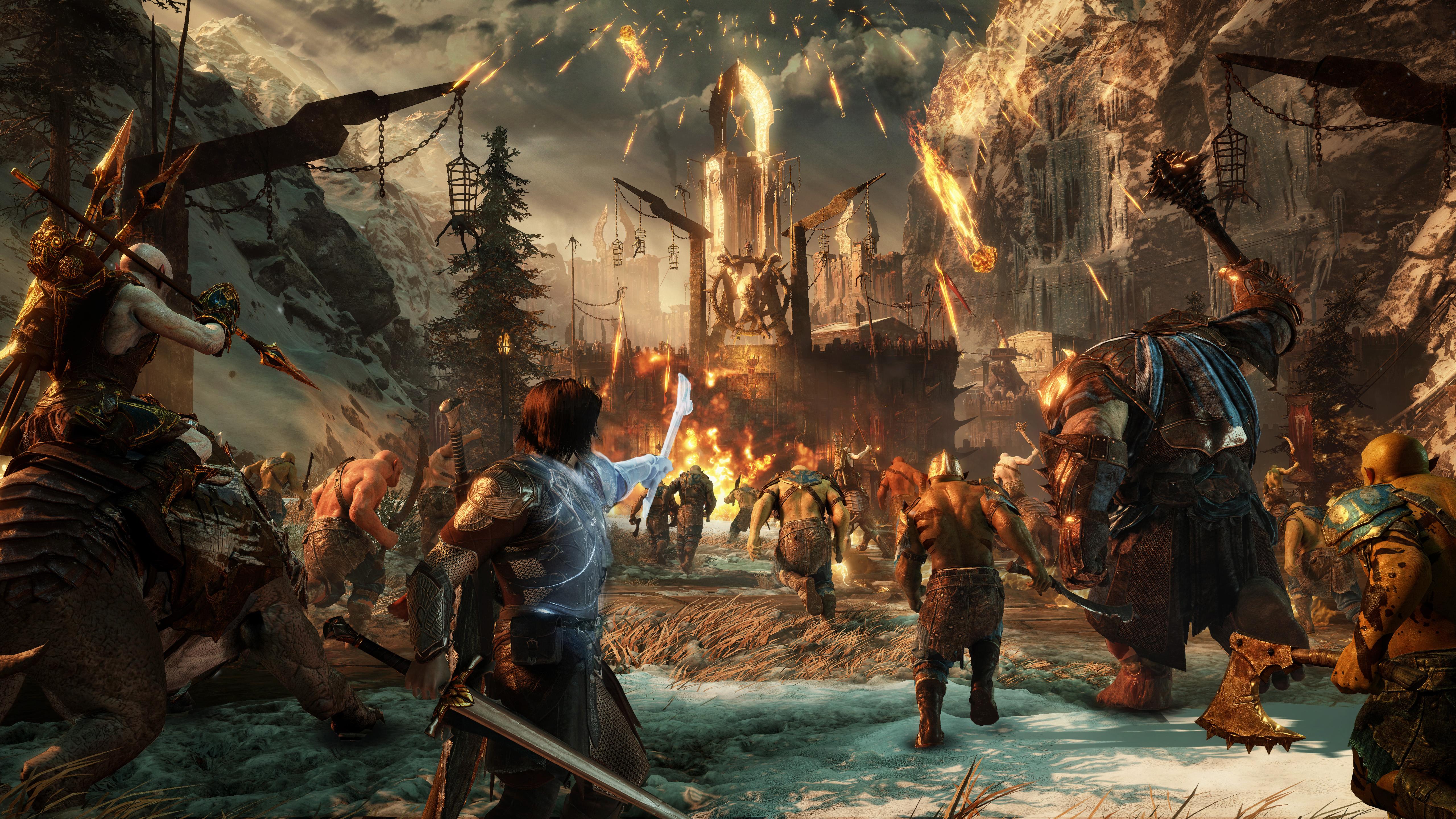 Middle-earth: Shadow of War v prvních gameplay záběrech 139897