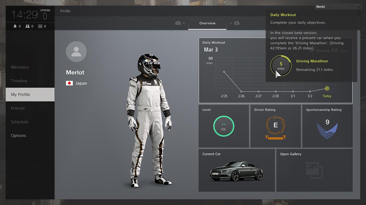 Gran Turismo Sport si někteří vyzkouší v betě 139981