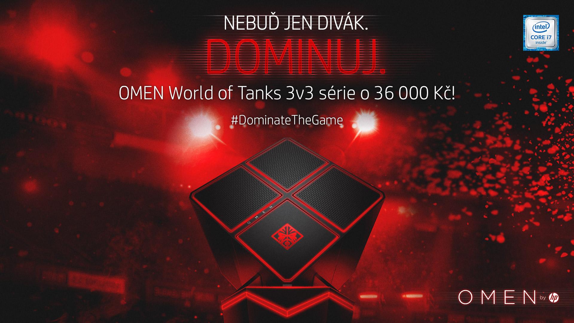 Zúčastni se OMEN World of Tanks turnaje a vyhraj 36 000 Kč 140112