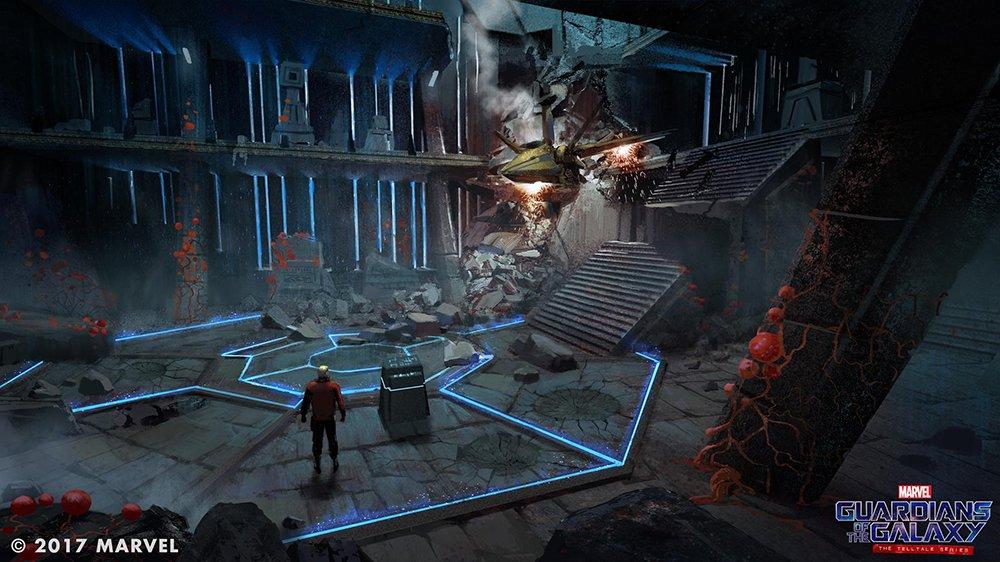 Nové obrázky ze Strážců Galaxie od Telltale Games 140115