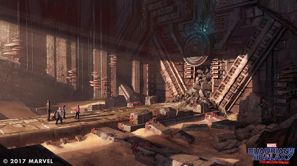 Nové obrázky ze Strážců Galaxie od Telltale Games 140116