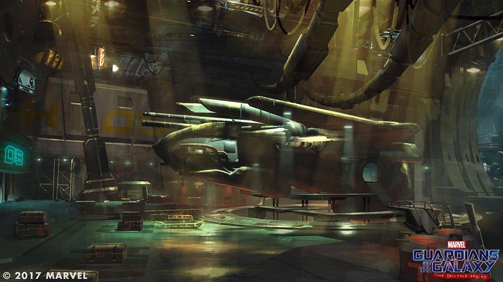 Nové obrázky ze Strážců Galaxie od Telltale Games 140117