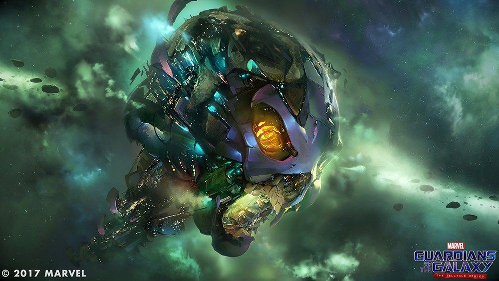 Nové obrázky ze Strážců Galaxie od Telltale Games 140118