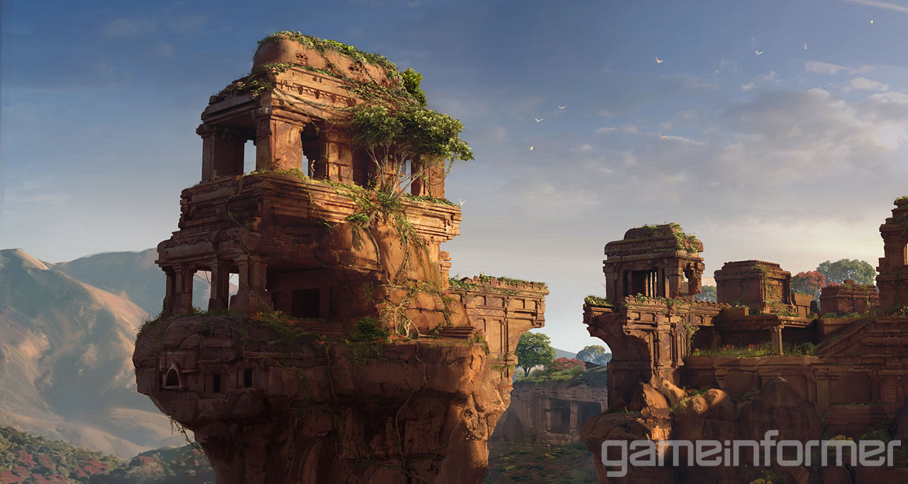 Koncepty z Uncharted: The Lost Legacy 140122
