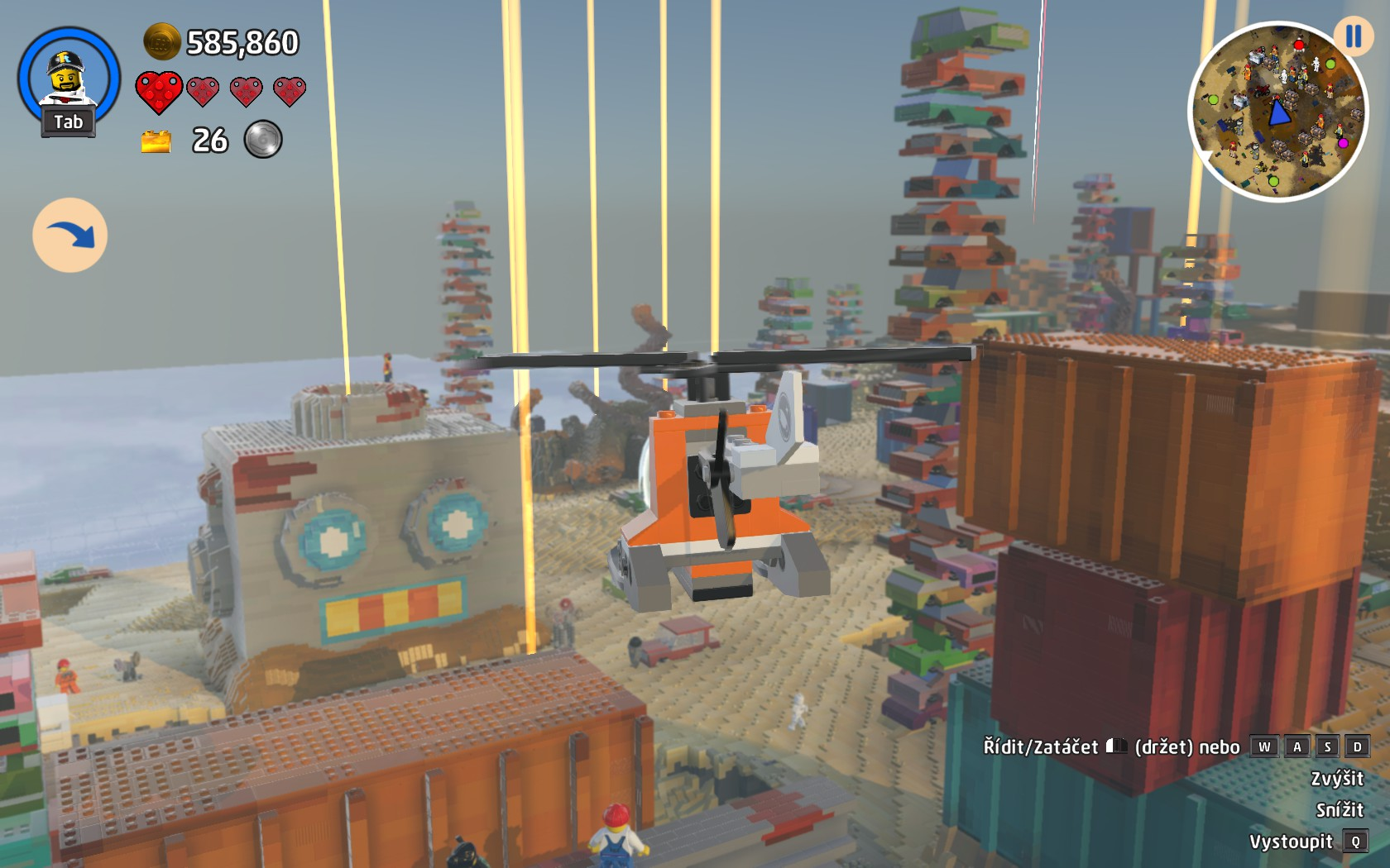 LEGO Worlds - trochu jiné stavění 140185