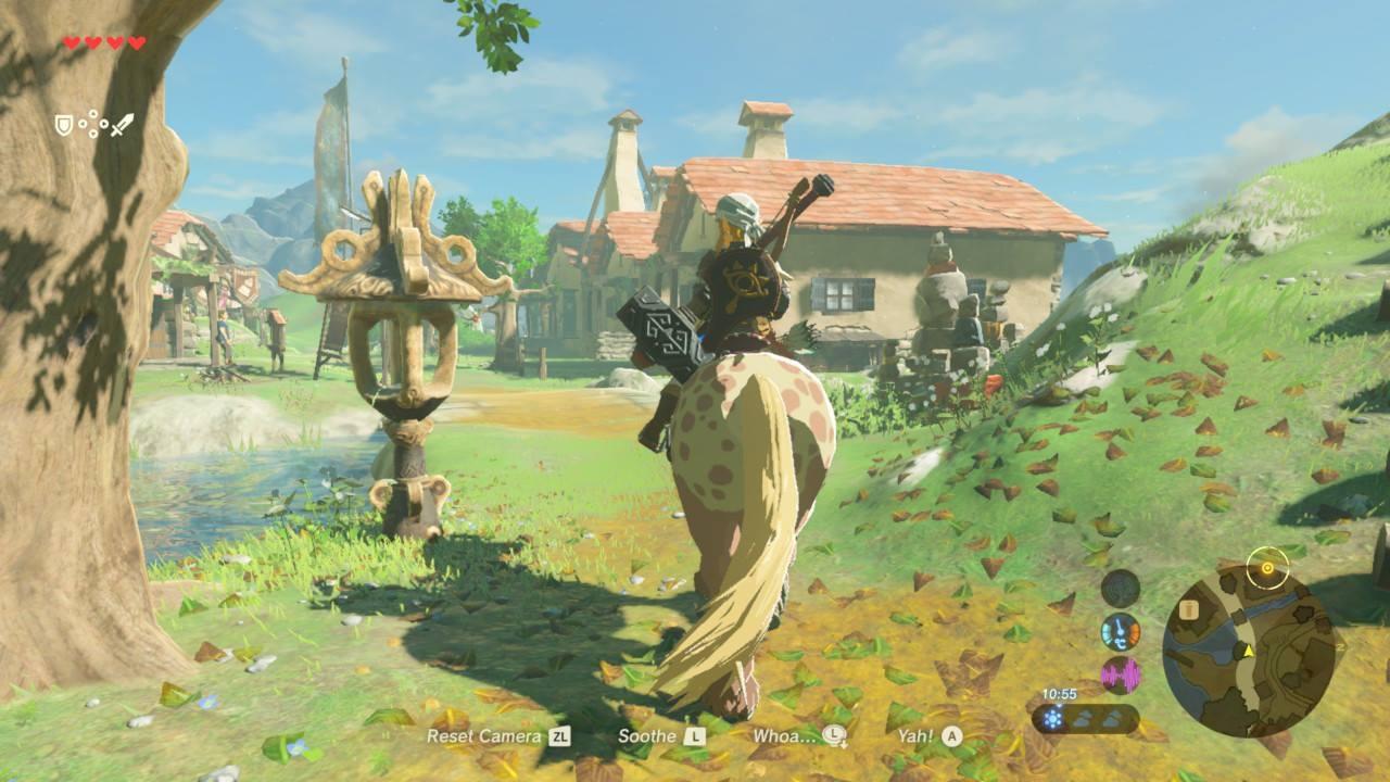 The Legend of Zelda: Breath of the Wild - svobodně se nadechni 140237